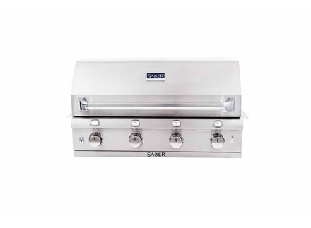 Stainless Steel 4-Burner Built-In Gas Grill
