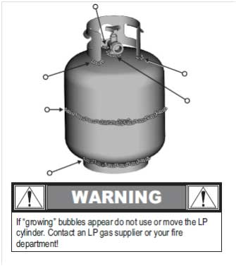 How often should I check for gas leaks and how do I perform