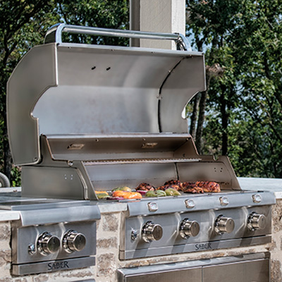 Not all stainless is created equal, and SABER grills are built to last with 304 commercial grade stainless steel.
