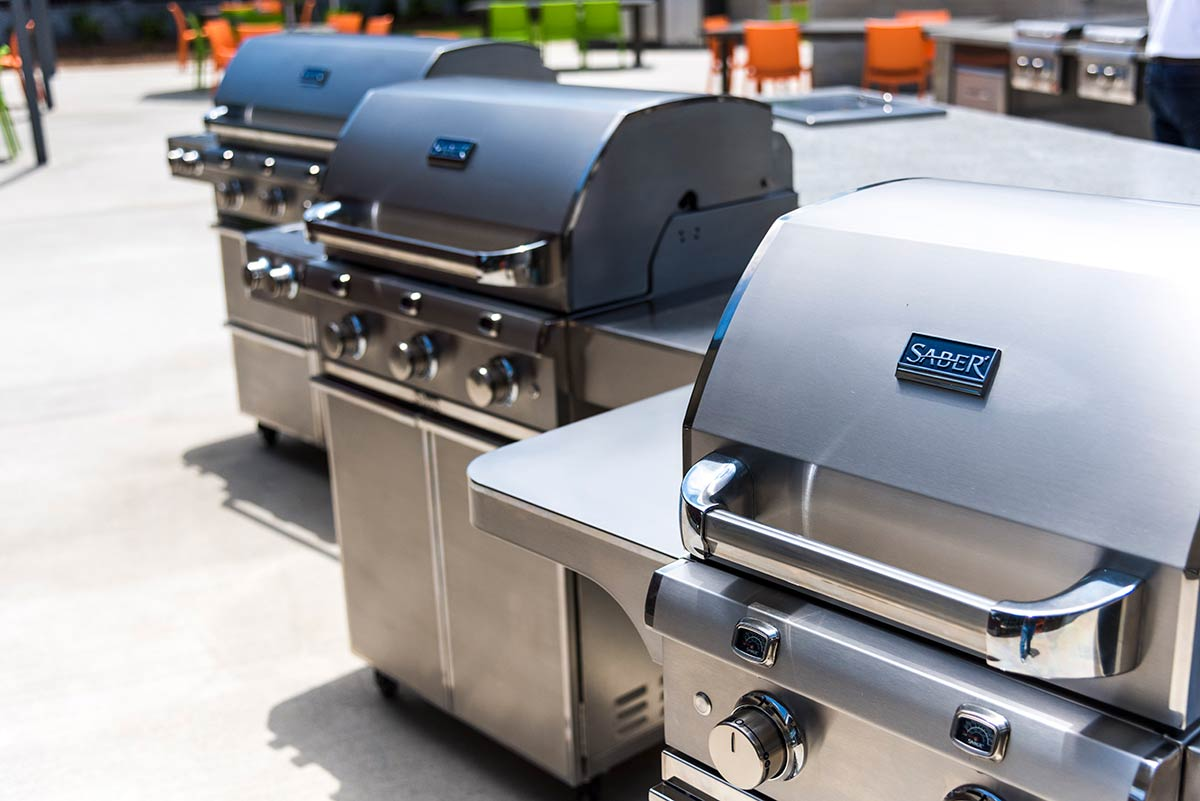 Choose a SABER<sup>®</sup> Grill