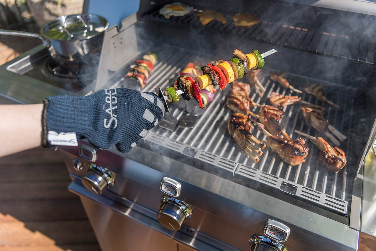 Grill everything on a SABER<sup>®</sup> grill