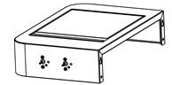 Kit, Sideburner Shelf Assembly