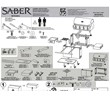 Assembly Guide, English/ Spanish/ French