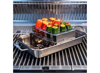 Stainless Double Pepper Roaster