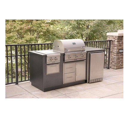 R Series EZ Outdoor Kitchen - Silver