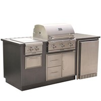 SABER EZ Outdoor Kitchen - R Series, Silver