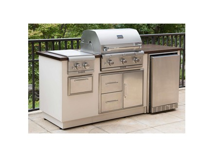 R Series EZ Outdoor Kitchen - Copper
