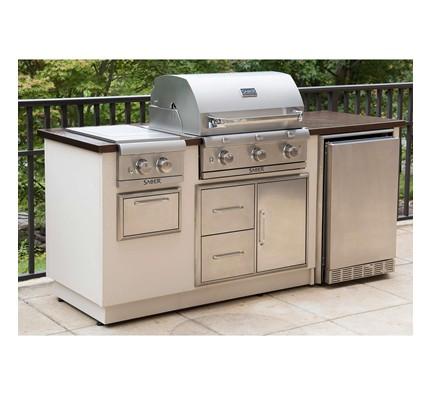 SABER EZ Outdoor Kitchen - R Series, Copper