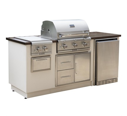 Excellent R Series Ez Outdoor Kitchen Copper Interior Design Ideas Clesiryabchikinfo
