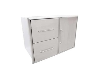 2-Drawer & Door Combo