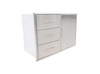 3-Drawer & Door Combo
