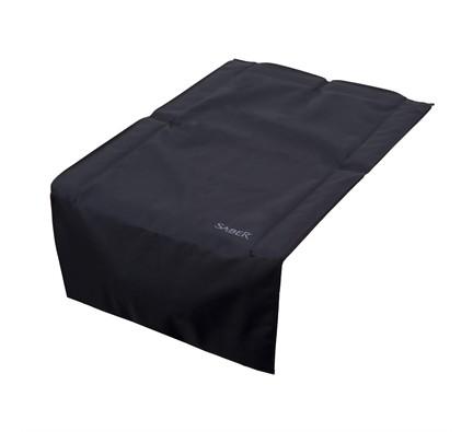 Dual Side Burner Cover - Black