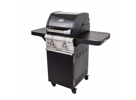 Deluxe Black 2-Burner Gas Grill