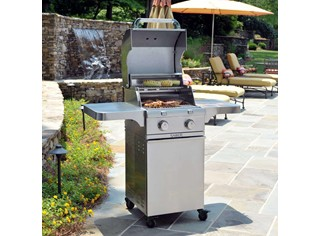 Stainless Steel 2-Burner Gas Grill
