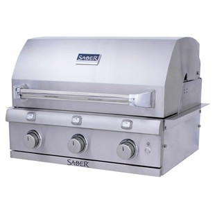 Premium 3-Burner Built-In Gas Grill