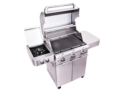 SABER 3-Burner Stainless Steel