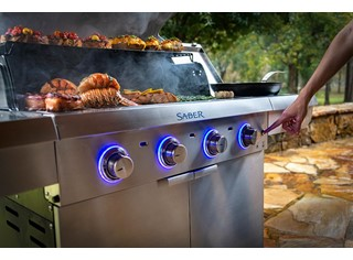 Select 4-Burner Gas Grill