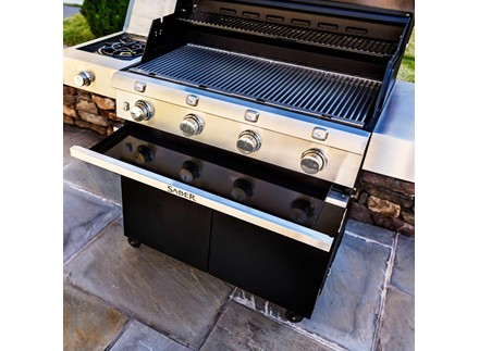 Cast Black 4-Burner Gas Grill