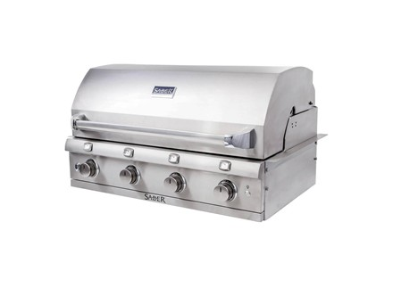 Premium 4-Burner Built-In Gas Grill